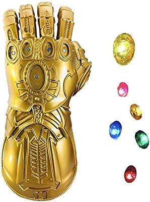 yacn Guante Thanos para niños, Disfraz de guantelete Avenger ...