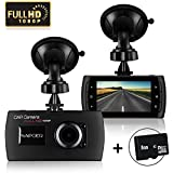 HD 1080P Dash Cam With 8GB SD Card, Napoer Wide View Dashboard Camcorder Vehicle Camera With G-Sensor, Night Vision, WDR, Motion Detection