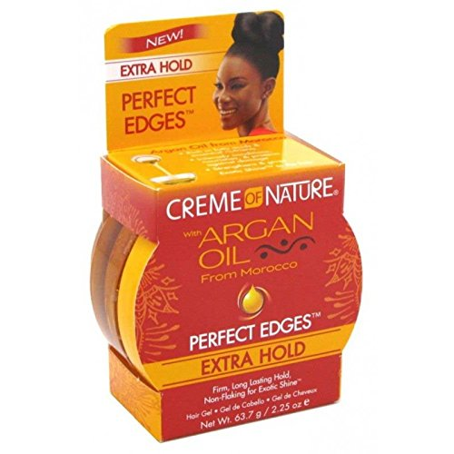 Creme Of Nature Argan Oil PERFECT EDGES EXTRA HOLD 63.7 g / 2.25 oz USA