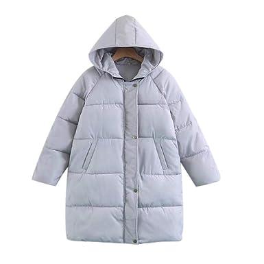 info pour e79b2 55003 Pagacat Doudoune Longue Femme Manteau Grosse Parka Hiver Chaud avec Capuche  Veste Loose Winter Outwear Coats (T.36-46)