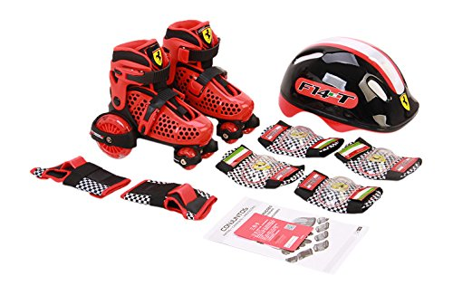 Ferrari My First Skate Combo Set, Red, Size 30-33 by Ferrari