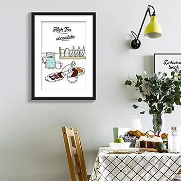 Framed Wall Art Tea Chocolates Prints