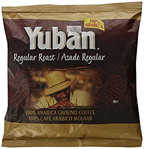 Yuban Coffee, Regular Roast, Ground, 7 Ounce Packages, 19 Pack