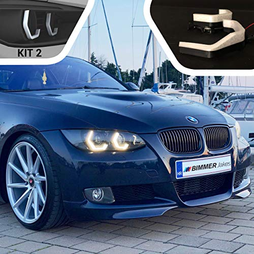 3 Series E92 Coupe / E93 Convertible / M3 E90 Before Facelift 2005, 2006, 2007, 2008, 2009, 2010 - BJ ICONIC LIGHTS (KIT 2) For Xenon Headlights