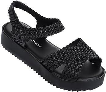 68880e1fd8 Women's Hotness + Salinas Sandals. Melissa New Hotness & Salinas Black 7 Womens  Sandals