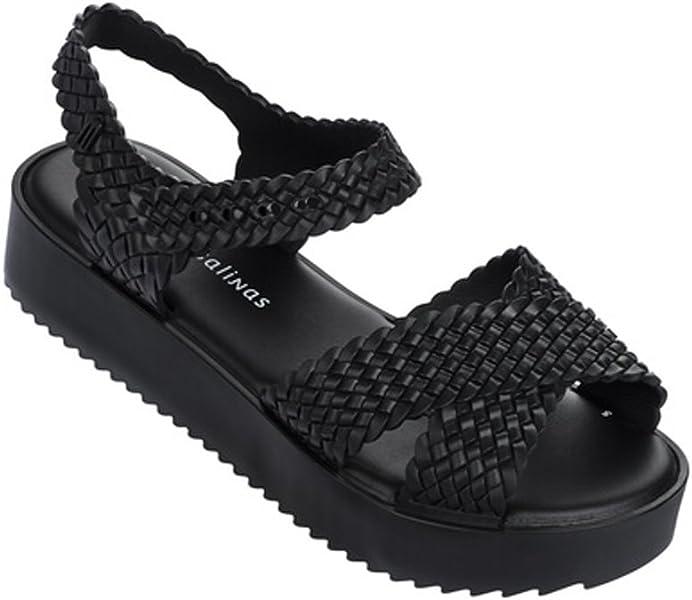 75e12cefec Amazon.com | Melissa New Hotness & Salinas Black 7 Womens Sandals ...