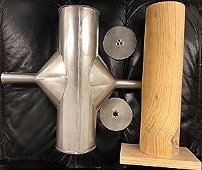 Made in Mexico Mejicana Churrera Churro Maker Churros Manual Hand Machine Metal/Wood w/