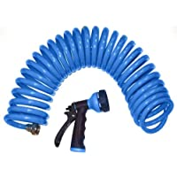 Orbit 27436 50-Foot Coil Hose with Nozzle