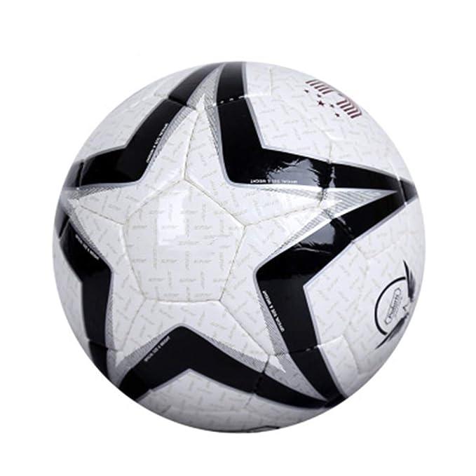 ALWAYYZZ Big Pentagonal de fútbol de Charol Negro Antideslizante ...