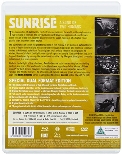 Sunrise a Song of Two Humans [Blu-ray]