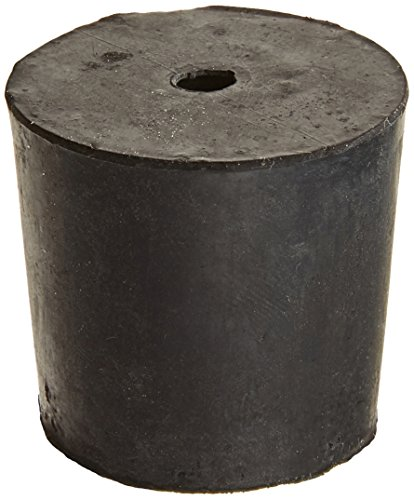 GSC International RS-5-1 Black Stoppers Rubber, #5, 1 Hole, 1 lb.