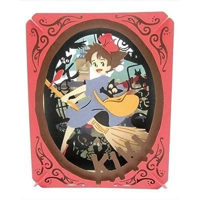 ensky Studio Ghibli Movie Kiki's Delivery Service Paper Theater (Memory in Koriko) PT-049: Toys & Games