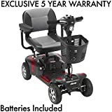 Phoenix 4 Wheel Heavy Duty Scooter by Drive Medical Includes 5 Year Protection Plan