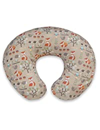 Boppy Pillow Slipcover, Classic Fox Forest/Tan BOBEBE Online Baby Store From New York to Miami and Los Angeles