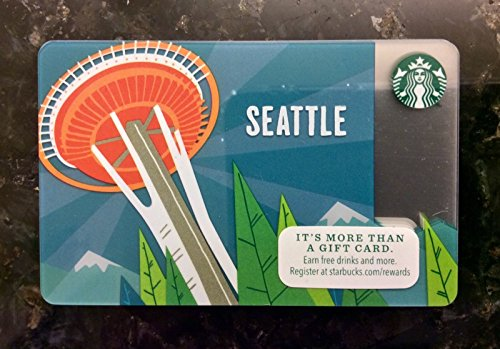 Collectable Gift (Starbucks Seattle Space Needle Limited Edition Collectible Gift Card)