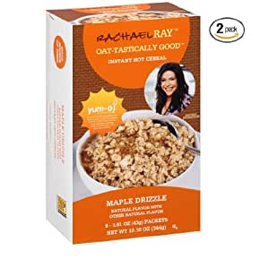 Rachael Ray Oat - Tastically Good Instant Hot Cereal Maple Drizzle (12.10oz Single Box) 2PACK