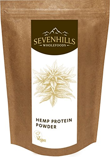 Sevenhills Wholefoods Roh Hanf-Proteinpulver 1kg