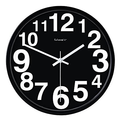 WERLM Diseño de personalidad a la decoración del hogar Reloj de pared Reloj de arte moderno