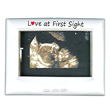 Amazoncom Love At First Sight Picture Photo Frame Ornament