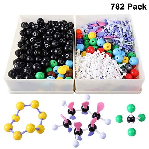 Chemical Molecular Structure Model 782 Pieces Biochemistry Chemistry Organic And Inorganic Modeling Set Chemistry Lab Educational Equipment Atom Model