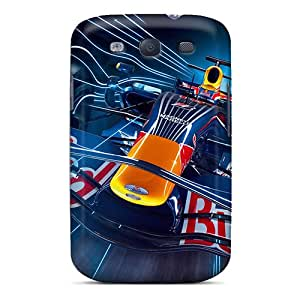 Faddish Phone Red Bull Case For Galaxy S3 / Perfect Case Cover
