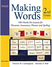 Making Words Second Grade: 100 Hands-On Lessons for Phonemic Awareness, Phonics and Spelling