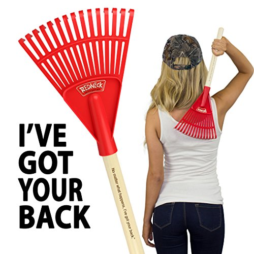 Lady Redneck Backscratcher–The gift you dreamed of, or at least will probably keep–Funny Gifts for Women Sister Mom Grandma Birthday Mother's Day Valentines Christmas gag novelty gift for her