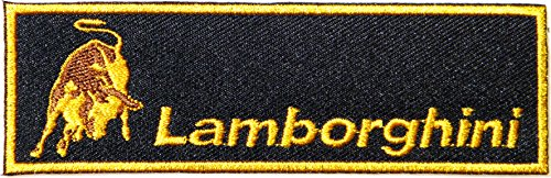 [Lamborghini Tonino Logo Sign Motorsport Sport Car Racing Patch Sew Iron on Applique Embroidered T shirt Jacket Costume BY] (Book Week Costumes For Sale)