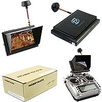 Hobbymate FPV Quadcopter AV Display Monitor with Wireless AV Receiver, 4.3 LCD 5.8G 32Ch 500cd/m2