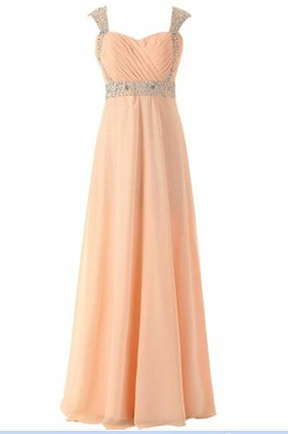 Miranda Sleeveless Lace up Back in Chiffon Prom Gown Evening Gown Homecoming Dress