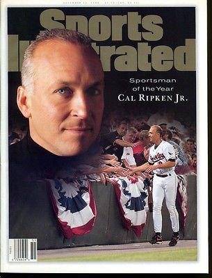 1995 Cal Ripken Jr. Sports Illustrated No Label Orioles Dec 18 Ex Condition
