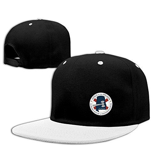 - Alabama House Of Representatives Logo Flat Bill Adjustable Hat Cool