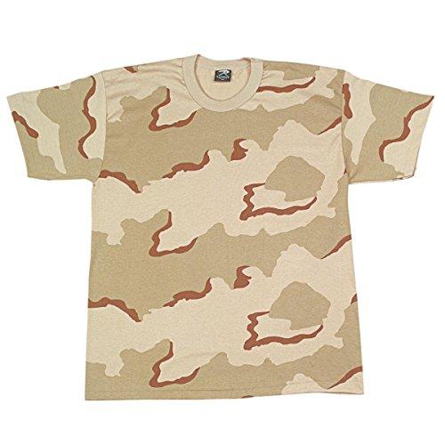 Rothco Kids T-Shirt, Tri-Color Desert Camo, X-Small