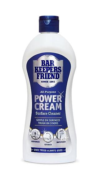 Bar Keepers Friend Allzweck Macht-creme 350ml: Amazon.de: Küche ...