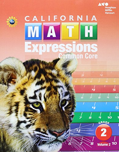 Houghton Mifflin Harcourt Math Expressions: Student Activity Book (softcover), Volume 2 Grade 2 2015