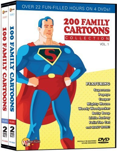 200 Family Cartoons Collection 1 by Pop Flix