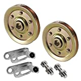 Extra Heavy Duty Garage Door Pulley with safety cable guide 3 Inch 200lb for Ext Springs
