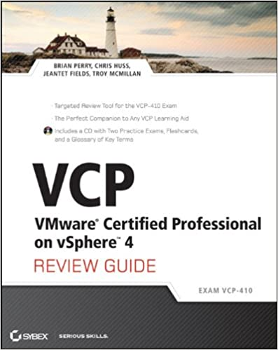 Vcp vmware certified professional on vsphere 4 review guide exam vcp vmware certified professional on vsphere 4 review guide exam vcp 410 1st edition malvernweather Choice Image