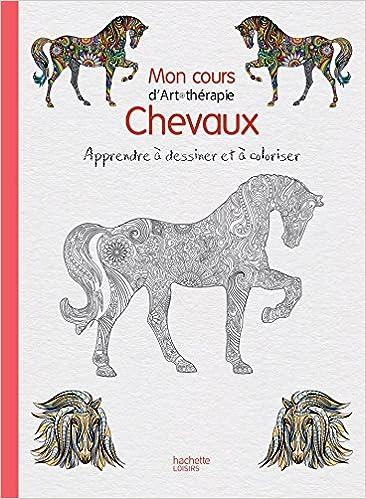 Coloriage Cheval Pur Sang.Chevaux Apprendre A Dessiner Et A Colorier Amazon Fr Florence