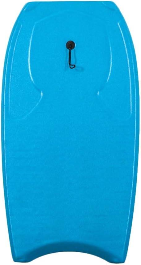 ミニサーフボード 人及び女性のための44インチの大人のサーフィンスポーツボディボードビーチのための軽量板 サーフボードまな板ユニセックス (色 : 青, サイズ : 44inch) 青 44inch