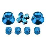 Gam3Gear Metal Aluminium Thumbstick D-pad Bullet Button Mod Set for PS4 Controller Light Blue Review
