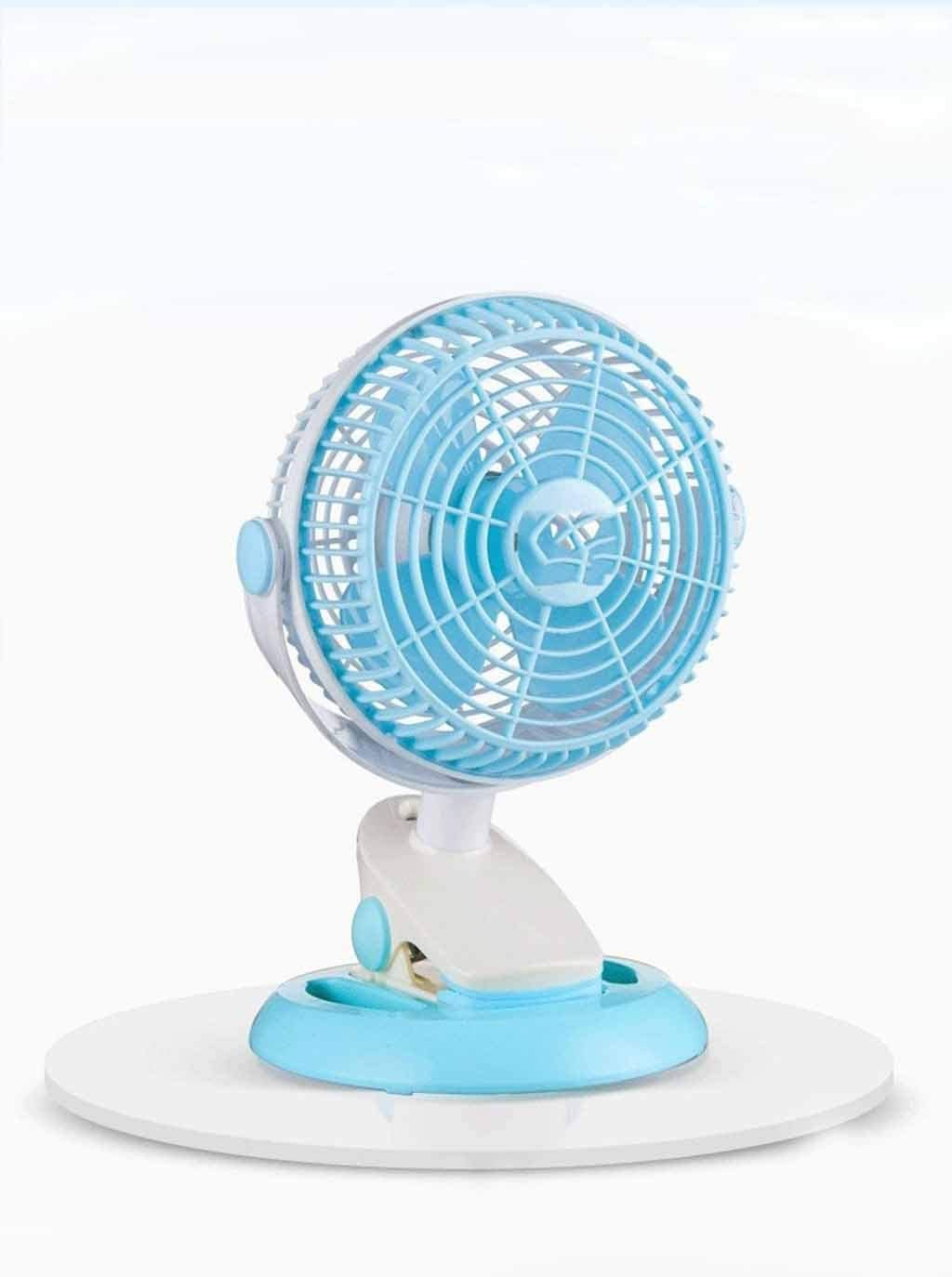 Color : A QIAOXINGXING Clip Fan Portable Rechargeable Mini USB Electric Fan Rechargeable Portable Student Dormitory Small Fan Wholesale