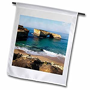 Danita Delimont - Cliffs - Australia, Port Campbell, Tasman Sea, cliffs-AU01 PSO0100 - Paul Souders - 18 x 27 inch Garden Flag (fl_71192_2)