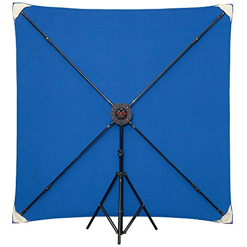 6 x 6' PXB Pro Portable X-frame Background System (Muslins Sold Separately) by Studio Assets