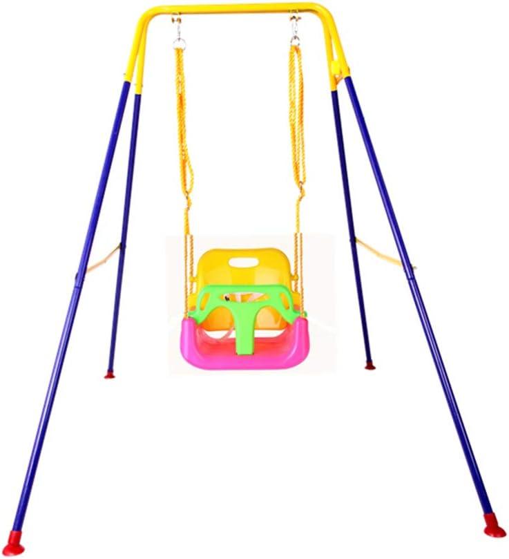 Columpio de interior, multifuncional para el hogar Jardín al aire libre Elevadores de asientos para bebés Parque de atracciones Zona de juegos Soporte para (Color : D , Tamaño : 110*160*165CM) : Amazon.es: Hogar