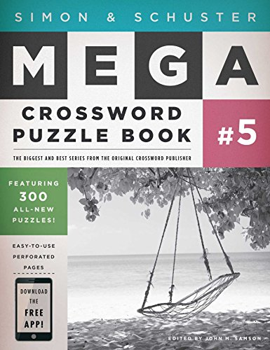 Simon   Schuster Mega Crossword Puzzle Book  5  Simon   Schuster Mega Crossword Puzzle Books
