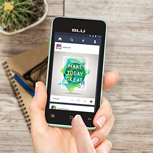 BLU Advance 4.0 L2 - US GSM Unlocked - Green Photo #4
