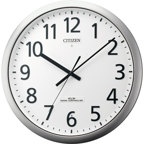 リズム時計工業 シチズン電波掛時計 8MY484-019 B00I9ZP2GK