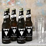Suit Up - Will You Be My Groomsman Decorations for