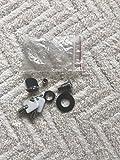 Standard OPS Soap & Paper Dispenser Lock (White) 12 per case
